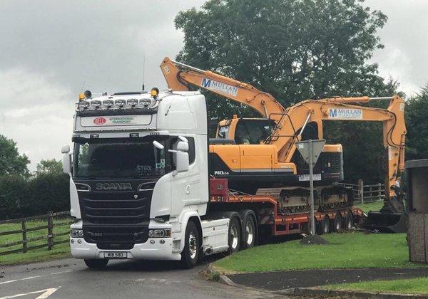 machinery haulage