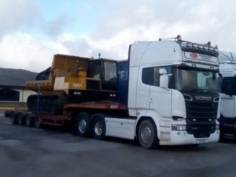 machinery haulage